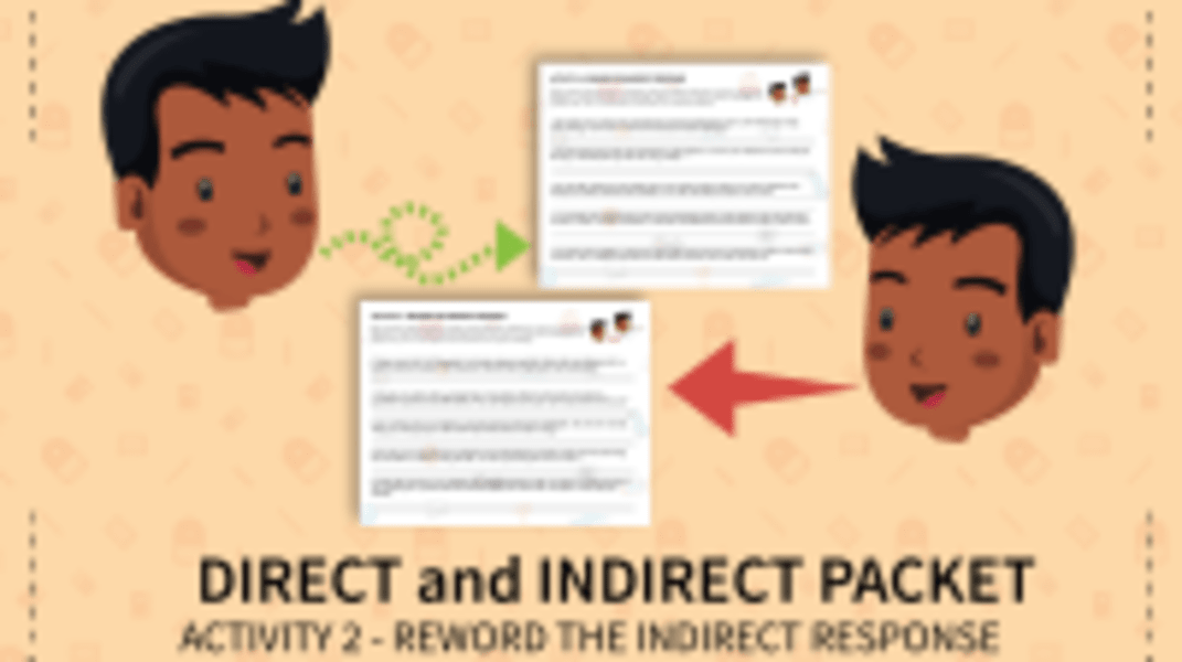Reword the Indirect Response