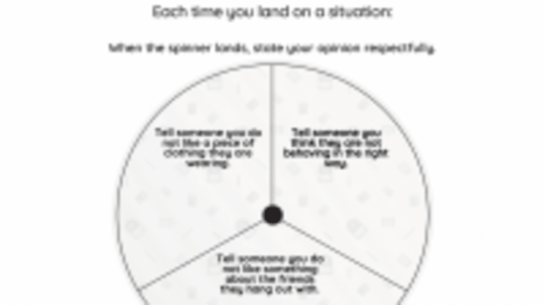 Interactive: Saying Your Opinion Respectfully
