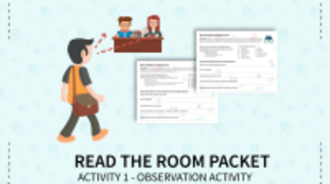 Read the Room - Observation Activity