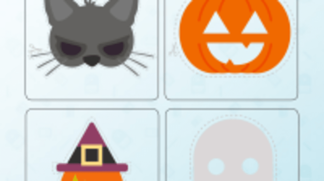 Halloween Moji Masks