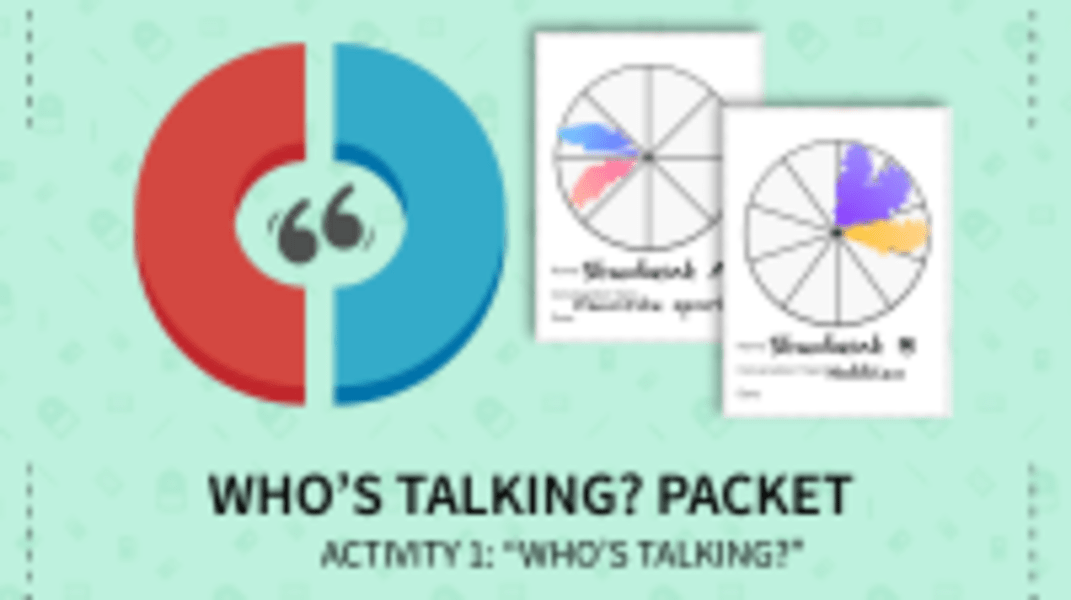 Who's Talking Activity