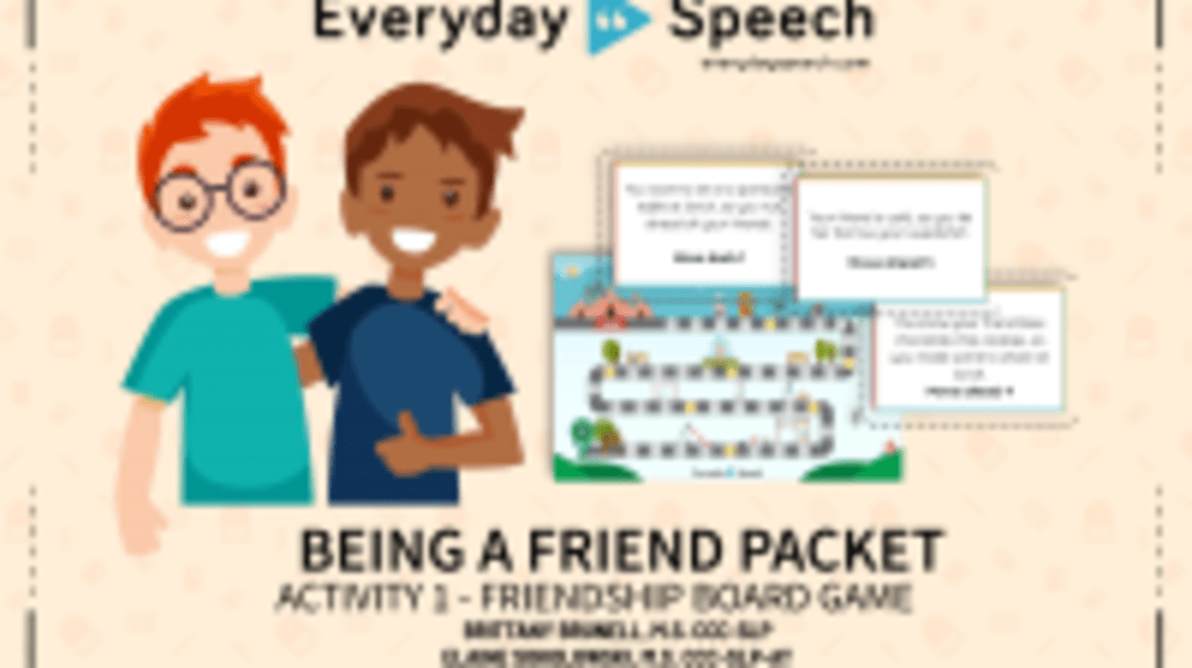Friendship Board Game