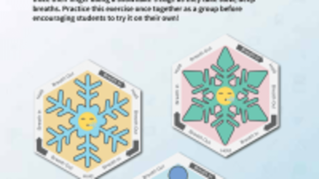 Calming Snowflakes