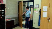 Entering a Classroom