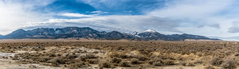 Panorama of Great Basin National Park