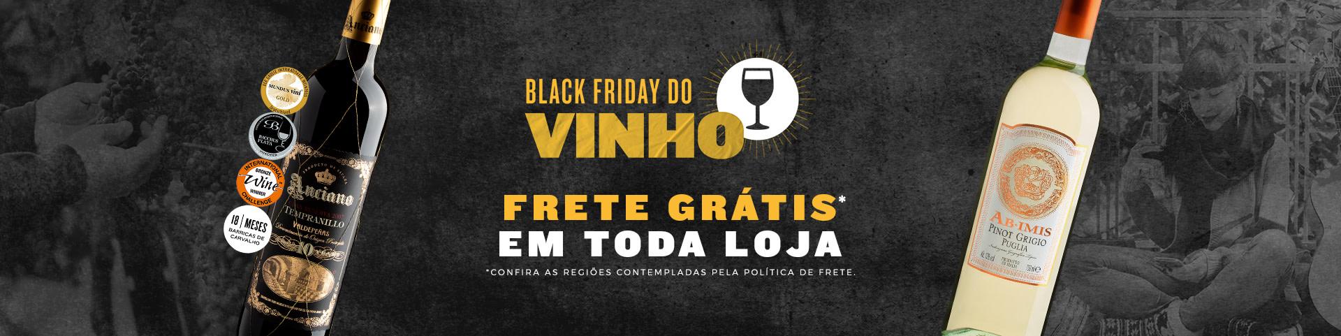 Campanha Black Vinho