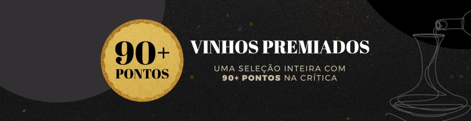Campanha Vinhos Medalhados 90 Mais