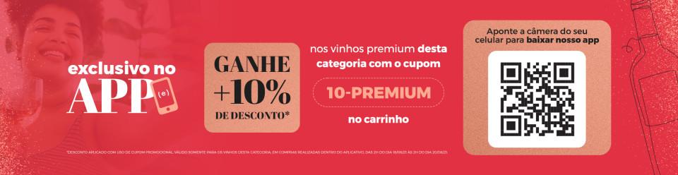 Campanha APP Premium com 10 OFF