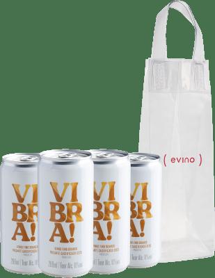 Botão para comprar kit de Vibra! Frisante - Vinho em Lata + IceBag