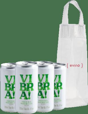 Botão para comprar kit de Vibra! Branco - Vinho em Lata + IceBag