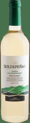 Botão para comprar vinho branco Soldepeñas Airén Chardonnay Vino Blanco