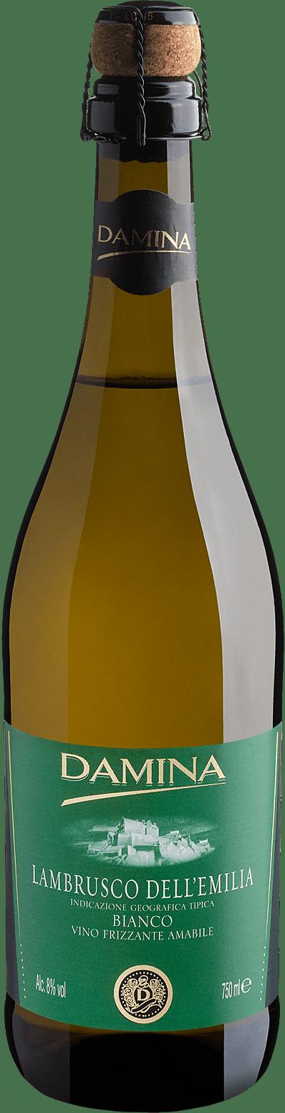 Vinho Frisante Branco - Damina Lambrusco Dell'emilia Frizzante Amabile Lambrusco - Itália