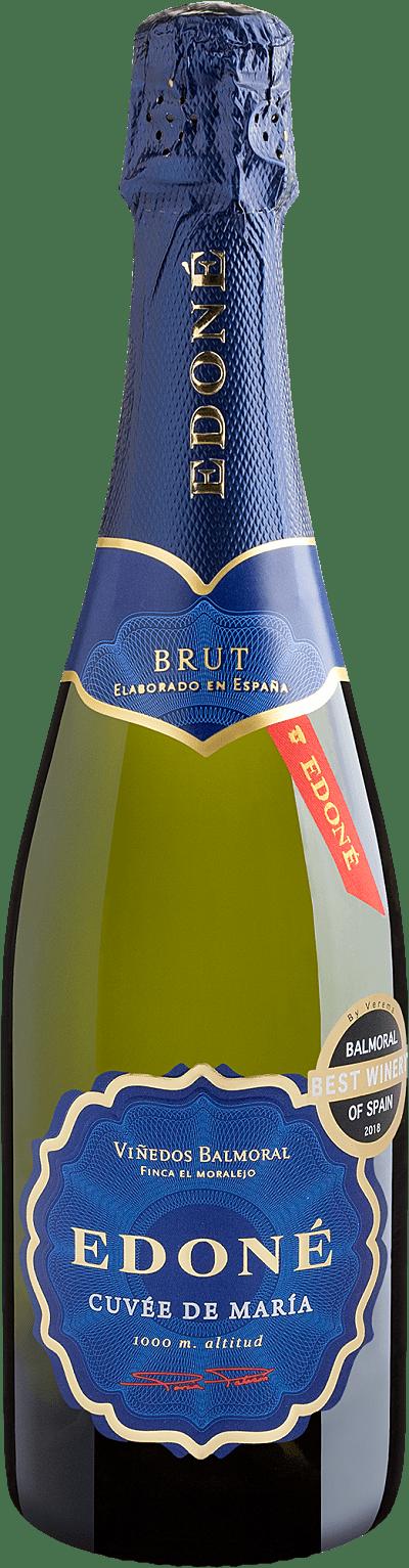 Vinho Espumante Branco - Edoné Cuvée de María Brut Chardonnay - Espanha