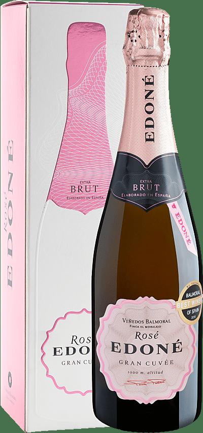 Vinho Espumante Rosé - Edoné Gran Cuvée Rosé Brut 2017 - Espanha