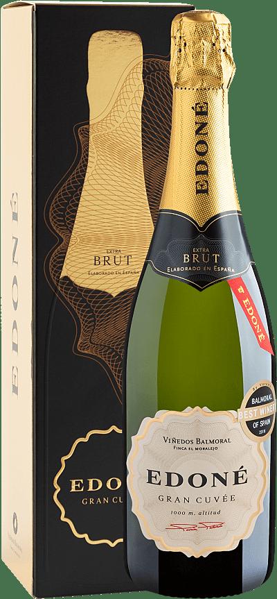 Vinho Espumante Branco - Edoné Gran Cuvée Brut 2015 - Espanha