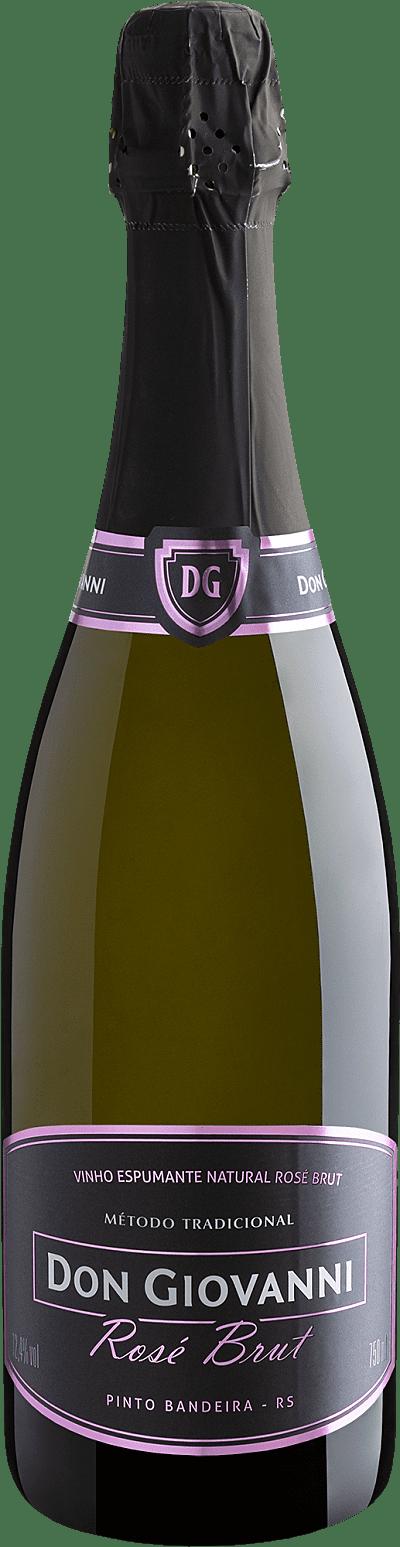 Vinho Espumante Rosé - Don Giovanni Rosé Brut - Brasil