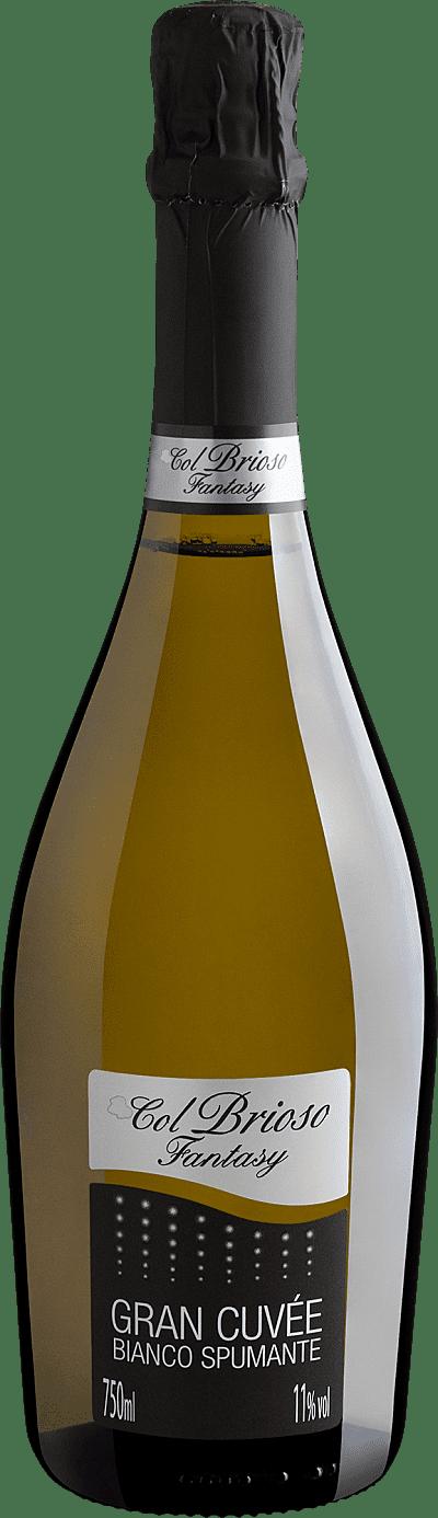 Vinho Espumante Branco - Col Brioso Fantasy Bianco Spumante Gran Cuvée Extra Dry - Itália