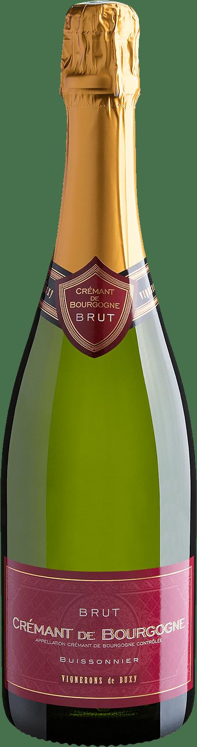 Vinho Espumante Branco - Buissonnier Crémant de Bourgogne Brut AOC - França