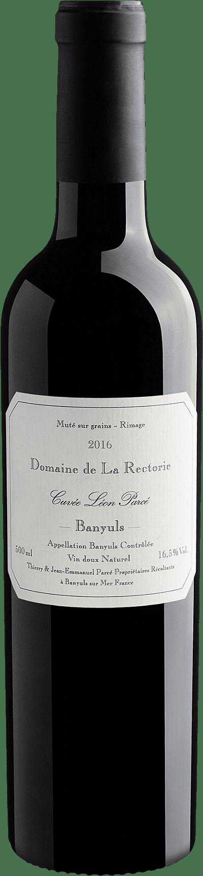 Vinho Fortificado - Domaine de La Rectorie Banyuls Rimage Leon Parce 2016 50cl - França
