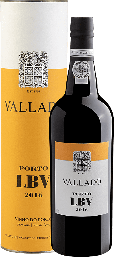 Vinho Fortificado - Vallado Porto LBV 2016 - Portugal