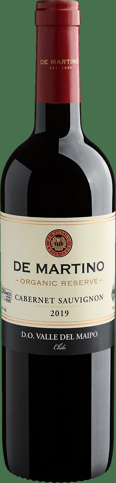Vinho Tinto - De Martino Organic Reserve Cabernet Sauvignon Valle del Maipo D.O. 2019 Cabernet Sauvignon - Chile
