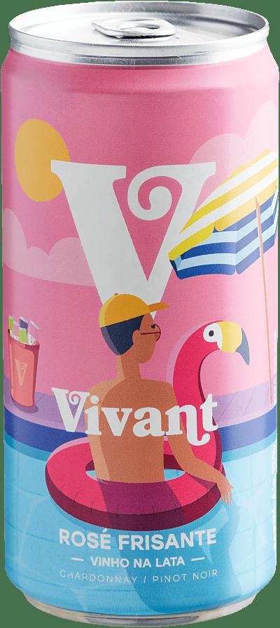 Vinho Espumante Rosé - Vivant Frisante Rosé - Brasil