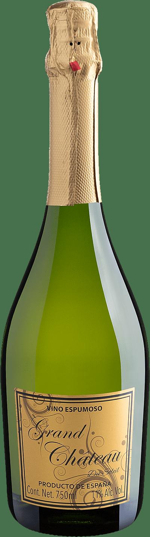 Vinho Espumante Branco - Grand Château Du Soleil Vino Espumoso Extra Brut Viúra - Espanha