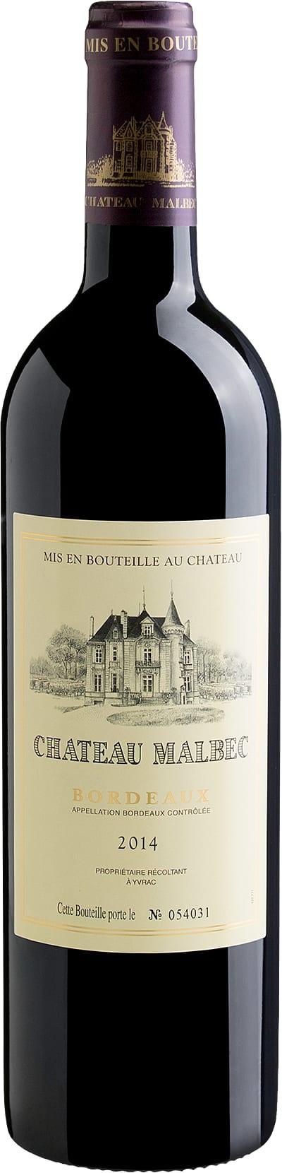 Bordeaux Château Malbec AOC 2014