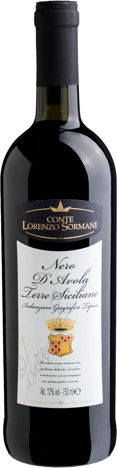 Conte Lorenzo Sormani Nero d'Avola