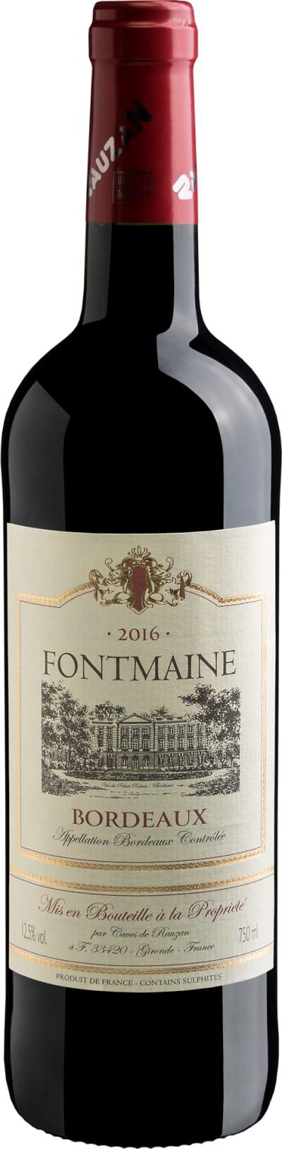 Bordeaux Fontmaine AOC 2016
