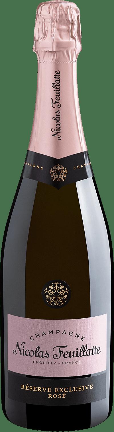 Vinho Espumante Rosé - Champagne Nicolas Feuillatte Réserve Exclusive Rosé - França
