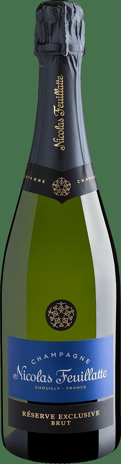 Vinho Espumante Branco - Champagne Nicolas Feuillatte Réserve Exclusive Brut - França