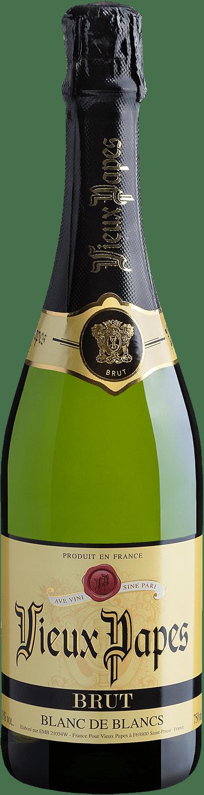 Vinho Espumante Branco - Vieux Papes Blanc de Blancs Sparkling Brut - Europeu