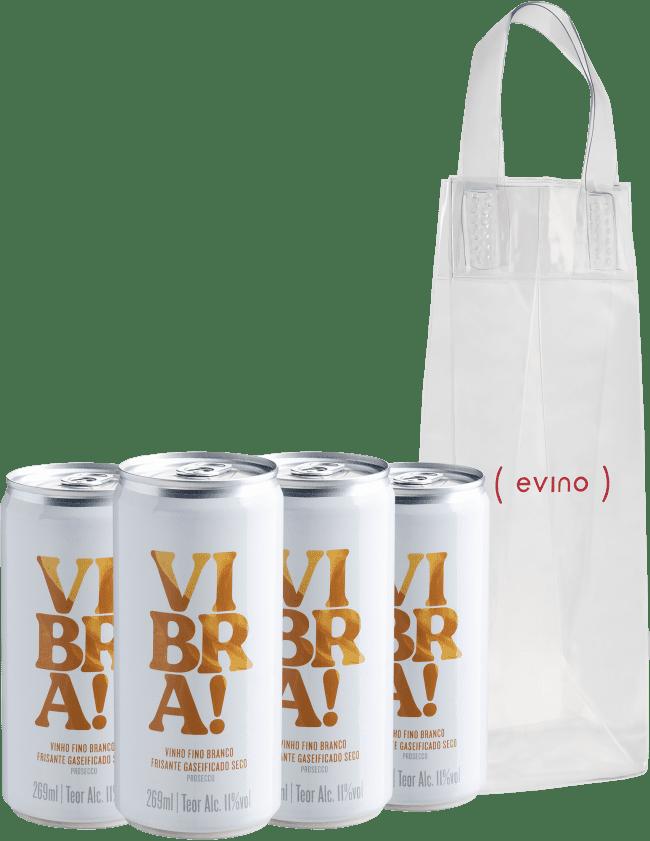 Kit Vibra! Frisante + Icebag - Brasil