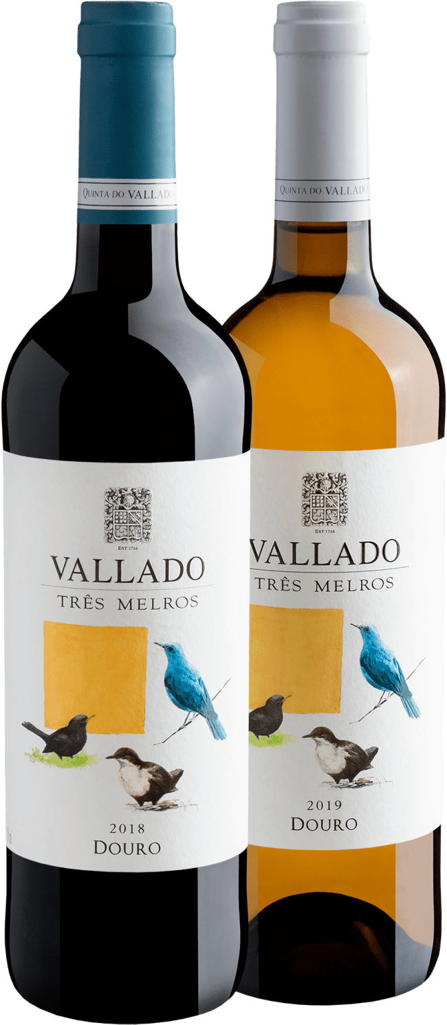 Kit Vallado Três Melros Douro DOC - Portugal