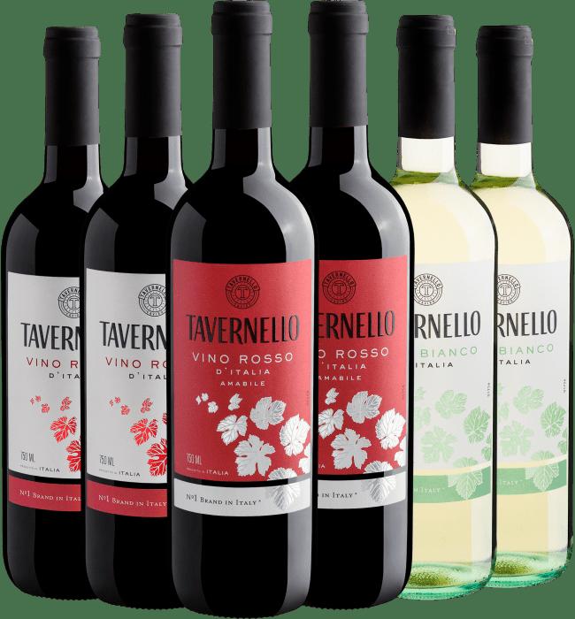 Sexteto Linha Tavernello | R$36,90 por garrafa - Itália