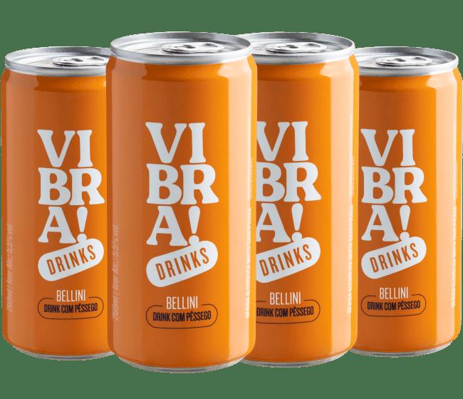 Kit Vibra! Drinks - Bellini - Brasil