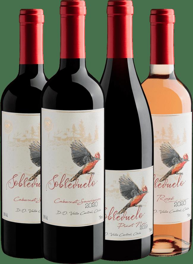 Kit Linha Sobrevuelo | R$39,90 por garrafa - Chile