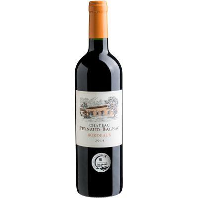 Vinho Tinto Bordeaux Château Peynaud-Bagnac AOP 2014 - Evino