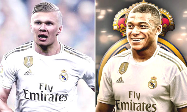 "Real upcoming contemporary European uproar: 2 year consecutive explosive 2 ""blockbuster"" Haaland - Mbappe"