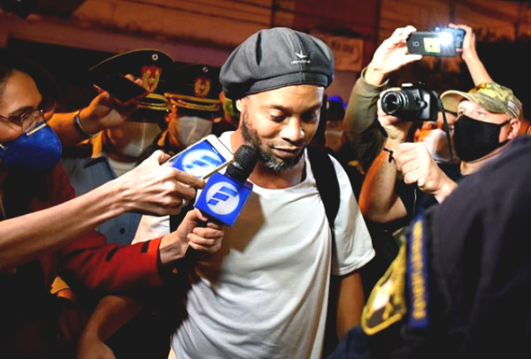 Unexpectedly, Ronaldinho could be reduced because of this jail