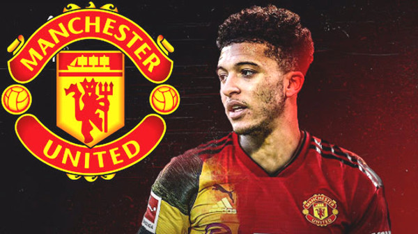 """""""Blockbuster"""" Jadon Sancho agree to MU: Terms done, when will it close?"""