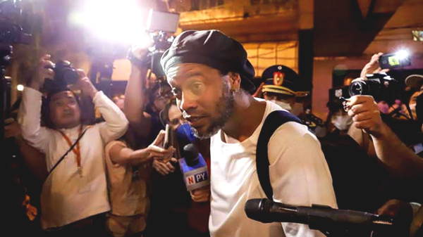 Ronaldinho fear crime more serious: police catch accomplices Paraguay