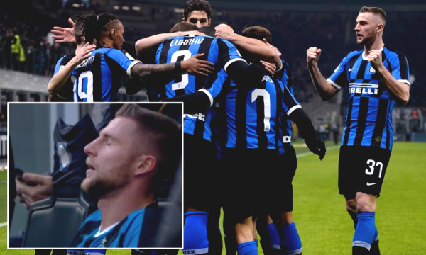 Inter Milan's shocking news: 23/25 players have been infected with Covid-19