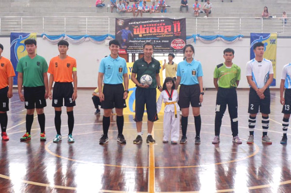 Prettiest female referee in Asia was reported in Thailand commended sobbed