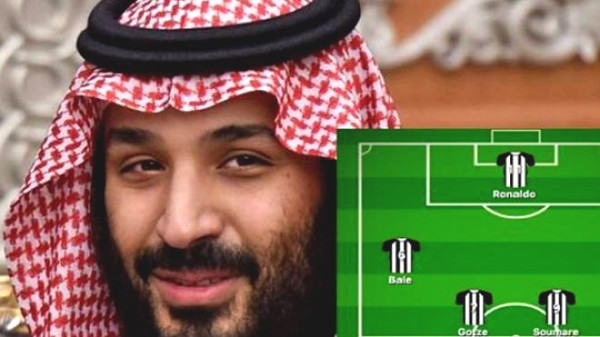 Saudi prince spent 300 million pounds, Newcastle will buy Ronaldo?