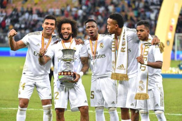 Empire Real Madrid: Large credit goes to Brazilian - Argentinan, honoring Ronaldo