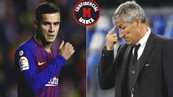 Barca coach thinks the cheeky,