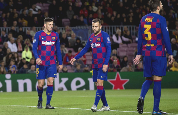 Stunning: Barca are willing to sell the majority of the squad, both in Europe waiting for