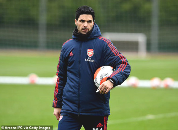 First Premier League team returned to training: Seamless Arsenal stars got impressed